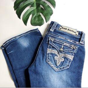 Rock Revival Killian boot cut jeans medium wash 26